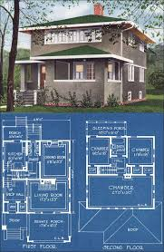 modern american foursquare house plans four square house plans fresh prairie and modern foursquare house plans