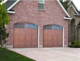 walnut garage doorsPinnacle Carriage House Garage Doors