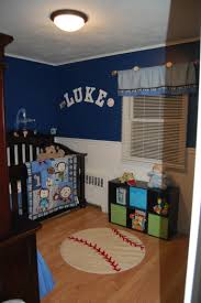 Monkey Bedroom Decorations Baby Boy Nursery Sports Monkey Blue My Creationsvisions And