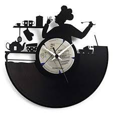 Awesome Reloj De Pared Ideal Para La Cocina, Cocinero, Irresistible Para Un Chef, Reloj  Original Vinyluse: Amazon.es: Hogar