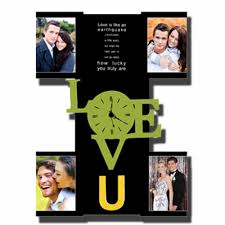 personalized 4pc wall clock 5