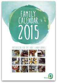 Introducing The 2015 Family Planner Lunch Box Calendar Planning