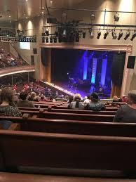 Ryman Auditorium Section Bal 10 Row N