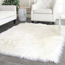 soft area rugs luxury rectangle sheepskin carpet faux mat seat pad fur plain fluffy soft