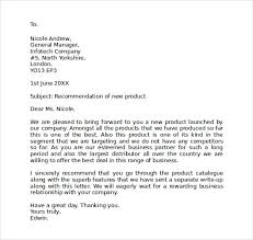 Sample Business Letter Format 8 Free Documents Download