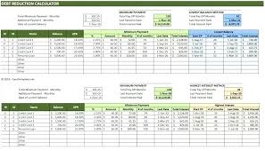 Loan Payoff Spreadsheet Template Excel Calculator Repayment Payment