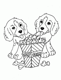 Small Picture Dog Coloring Pages For Kids fablesfromthefriendscom