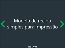 Modelo De Recibo