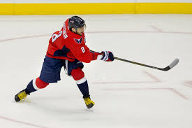 ovechkin scores 500th career goal the times the capitals alex ovechkin follows through on a shot during his team s 7 1
