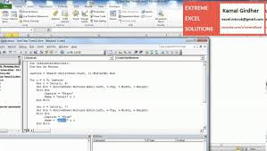 Start Stop Timer Buttons In Excel Vba Macro Tutorial Youtube