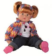 Götz Panenka Muffin Maxy Zrzavé Vlasy 42cm Moje Chytré Dítě