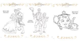 Small Picture Beauty and the Beast Coloring Pages Desert Chica