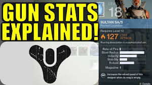 Destiny 2 Weakness Chart Destiny Weapon Stats Explained Attack Is Not Damage