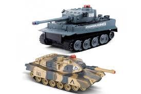 <b>Радиоуправляемый</b> танковый бой <b>Huan QI</b> Tiger vs Leopard ...