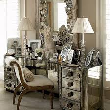 mirrored vanity furniture. Mirrored Bedroom Vanity Endearing Makeup Table Intended For Decor 7 Furniture