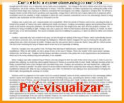 exame otoneurologico completo
