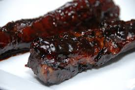 Country Style Pork Ribs Braised In Wine And Garlic  Recipes Randy Pork Shoulder Country Style Ribs Grill
