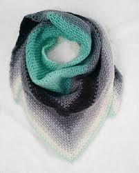 Triangle Scarf Crochet Pattern