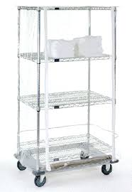 clear cart cover