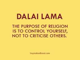 Religion Quotes Awesome Dalai Lama Purpose Of Religion Quotes Inspiration Boost