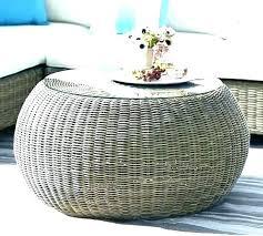 wicker coffee table with storage round wicker coffee table with storage concentric coffee table round wicker