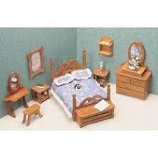 make your own doll furniture. Greenleaf Bedroom Furniture Kit Set - 1 Inch Scale 7201 Make Your Own Doll
