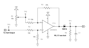 alternating current circuit. difference amplifier alternating current circuit