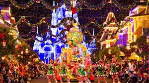 disneyland christmas wallpaper. Contemporary Christmas Christmas Parade At Disneyland To Disneyland Wallpaper R