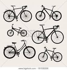 Vector Set Bicycle Vector Photo Free Trial Bigstock