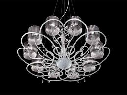 aida chandelier classic suspended lamp with crystal sw drops