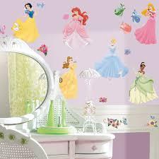 Disney Princess Peel and Stick Wall Decals - Decorative Wall Appliques -  Amazon.com