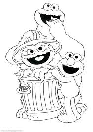 Sesame Street Printable Coloring Pages Naxk New Of Sesame Street