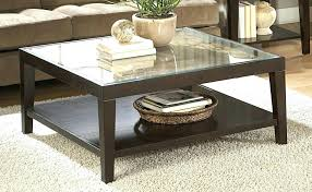 large square glass coffee table large square coffee table glass top coffee table stunning square glass