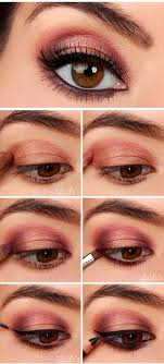 27 pretty makeup tutorials for brown eyes in 2018 makeup makeup eyeshadow and gold eyeshadow