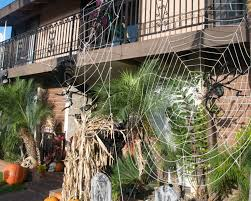 Halloween Home Ideas With Spider Web