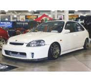 SKImport BackYard Special Style Front Bumper Polyester Honda Backyard Special Bumper
