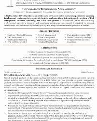 Itil Certified Resume Samples Unique Itil Resume Resume Format
