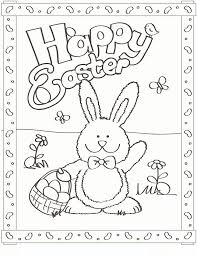 Free Coloring Pages Of Easter Bunnies The Color Panda