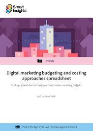 Online Budgeting Digital Marketing Budgeting And Costing Approaches