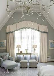 Curtain Valances For Bedroom Classical Bedroom Curtain Curved Window Treatments Pinterest