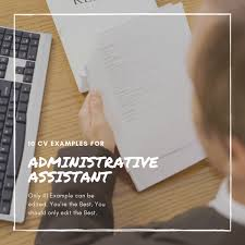 Administrative Assistant Objective Resume Samples Top 10 Administrative Assistant Resume Formats Cv Samples