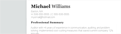 How To Write A Modern Resume Objective With Examples Great Sample
