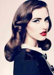 1940 s inspired hair and makeup beautiful for an old hollywood bridal look
