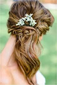 Une Coiffure De Mariage Avec Cheveux Mi Long Coiffures De