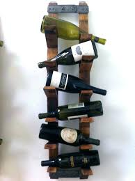 wine racks rustic wall wine rack wood medium size of calm mount hanging mounted glass