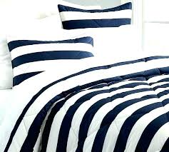 rugby stripe comforter rugby stripe quilt blue and white stripe bedding rugby stripe duvet cover sham