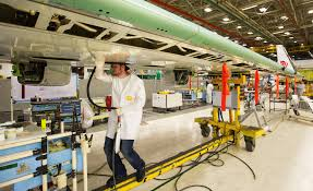 boeing retools renton plant with automation for 737's big ramp up Boeing Wire Harness before wing assemblies are sealed, james hollingsworth vacuums inside for a 737 jetliner being assembled wire harness assembly boeing