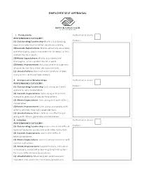 Sample Annual Performance Review Annual Appraisal Template Self Appraisal Example Performance Review
