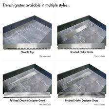 redi trench shower pans