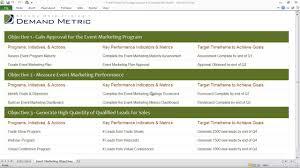 Event Marketing Plan Strategy Scorecard Youtube Images High ...
